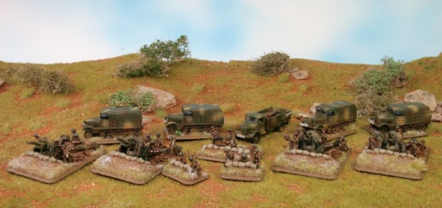 Hungarian Artillery, Models by Battlefront, Painted by Tankred