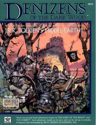 Denizens of the dark Wood with Title illustration by Angus McBride