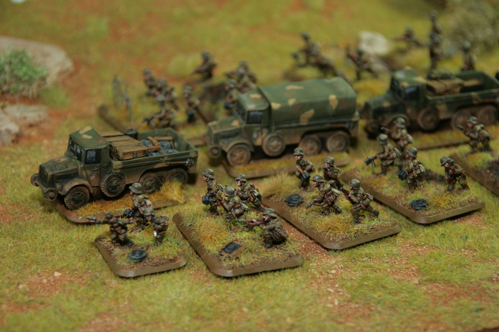FoW: Hungarian Assault Pioneers converted and painted by Tankred