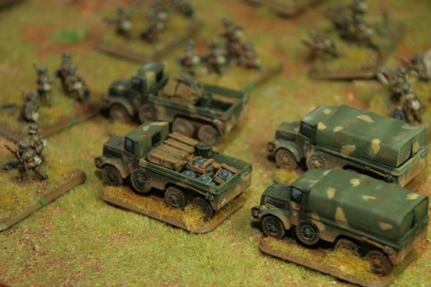 Hungarian Botond Truck including Pioneer Truck painted by Tankred