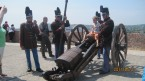Hungarian cannon with crew from the 19th century Hungarian during Honvéd Nap 2011