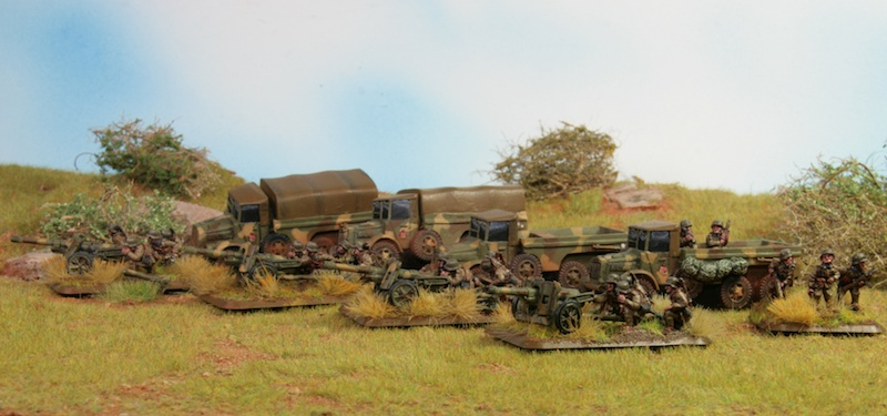 Hungarian FoW Miniatures: anti-tank guns painted by Tankred
