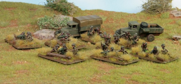 Hungarian Weapons Platoon, Miniatures Battefront, painted by Tankred