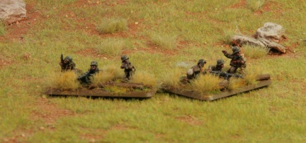hungarian Solothurn S-18/100 anti-tank rifle teams miniatures painted by Tankred