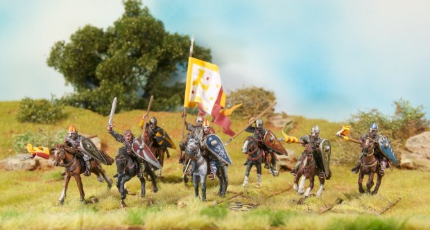Norman Knights miniatures by Perry Miniatures, painted by Tankred, SAGA