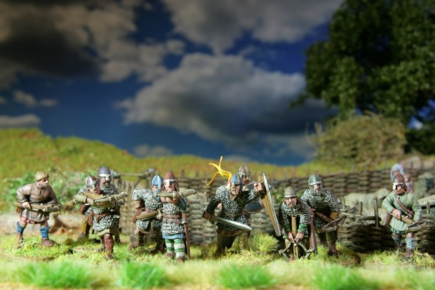 Norman crossbowmen, Perry Miniatures painted by Tankred