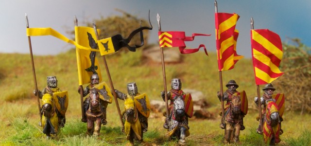 This is my first Impetus element for our upcoming club campaign game for the german feudal medieval era. I have chosen the outstanding Legio Heroica miniatures. Much inspiration for the... This is my first Impetus element for our upcoming club campaign game for the german feudal medieval era. I have...
