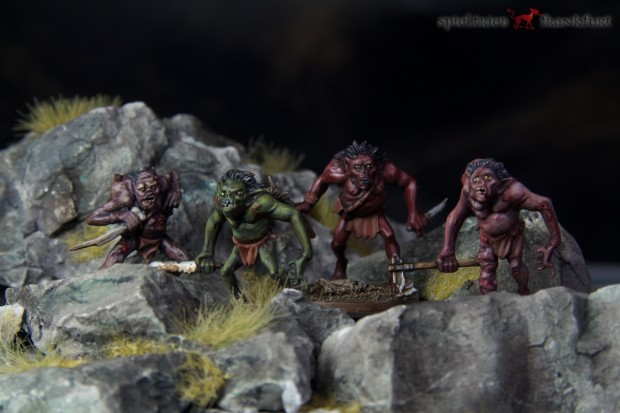 The Hobbit - Goblins - Miniatures by Games Workshop painted by Tankred