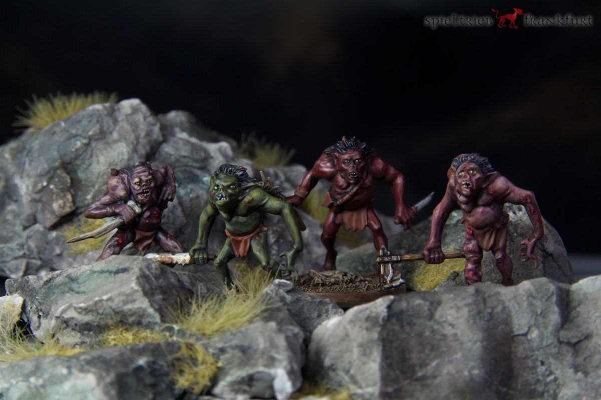 Goblin King Goblins painted by Tankred